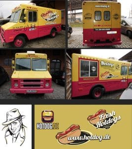 Artwork for a food truck